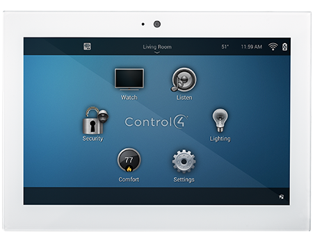 control4 touchpanel